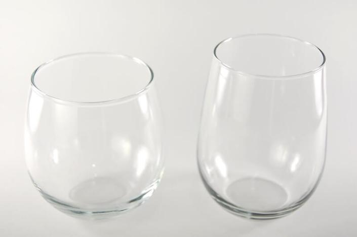 Table setting rentals- Stemless Wine Glasses