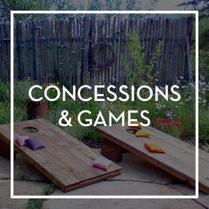 Event Rental- Concessions & Games