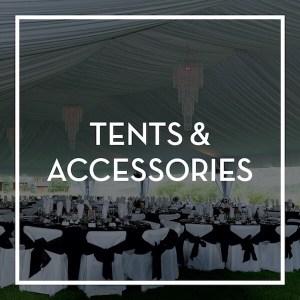 Event Rental- Tents & Accessories