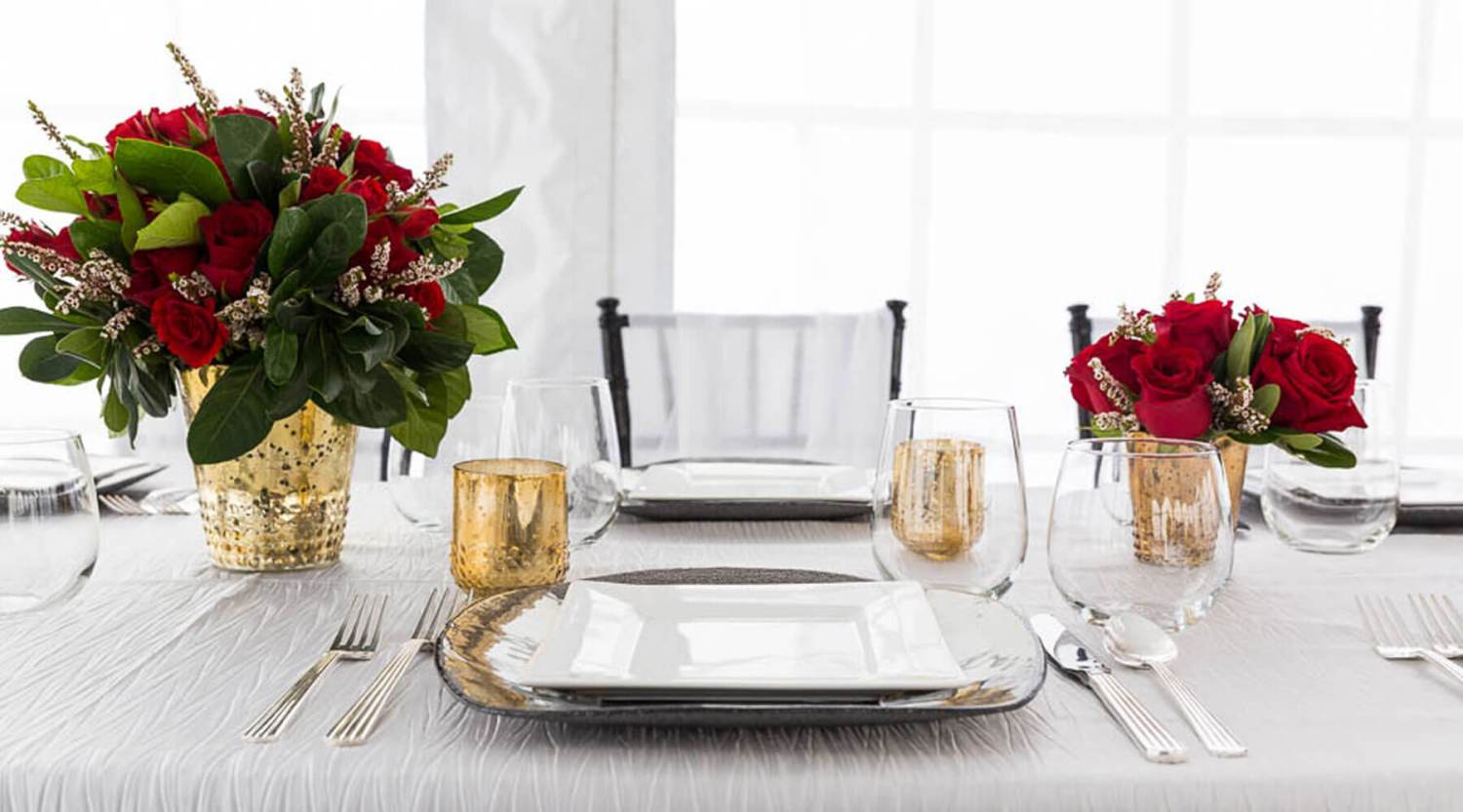 CO Tents & Event-Table Setting Rentals-China, Glassware & Flatware