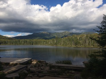 Lonesome lake in the Whites
