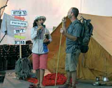 Orit and David introduce our camp theme - The Expedition