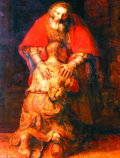 Return of the Prodigal Son - by Rembrandt
