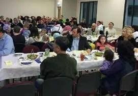 Shabbat celebration meal