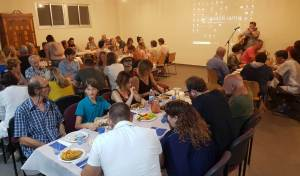 Recent Aleph Club meeting