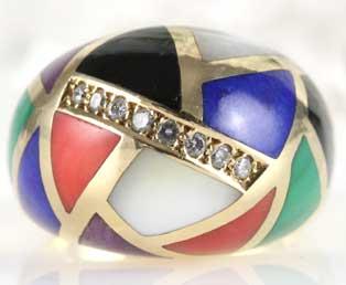 Asch Grossbardt Gold Ring