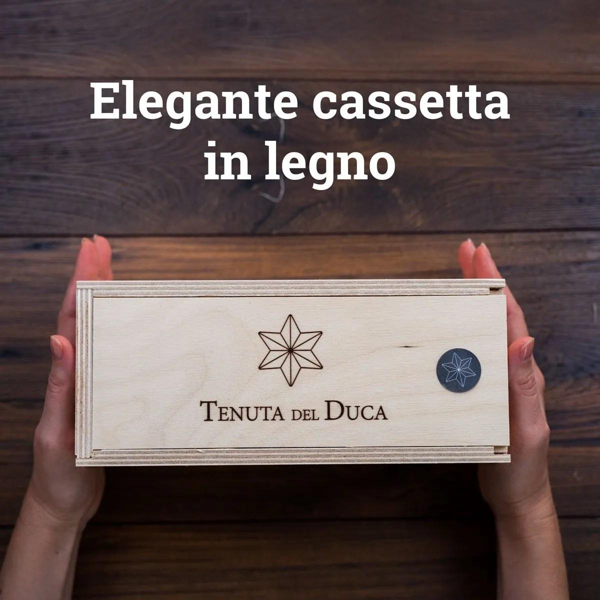 Fikurì Cassetta in legno01 - Tenuta del Duca