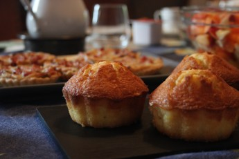 Breakfast - Muffins and tarts