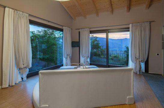 Panorama dalla suite Diamante