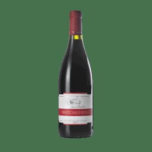 Bottiglia di vino Montecarlo Rosso DOC