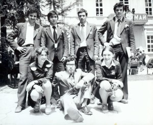 The first team of Theodosii Theodosiev in May 1978