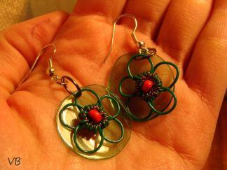 Veronica Barbu handmade cercei
