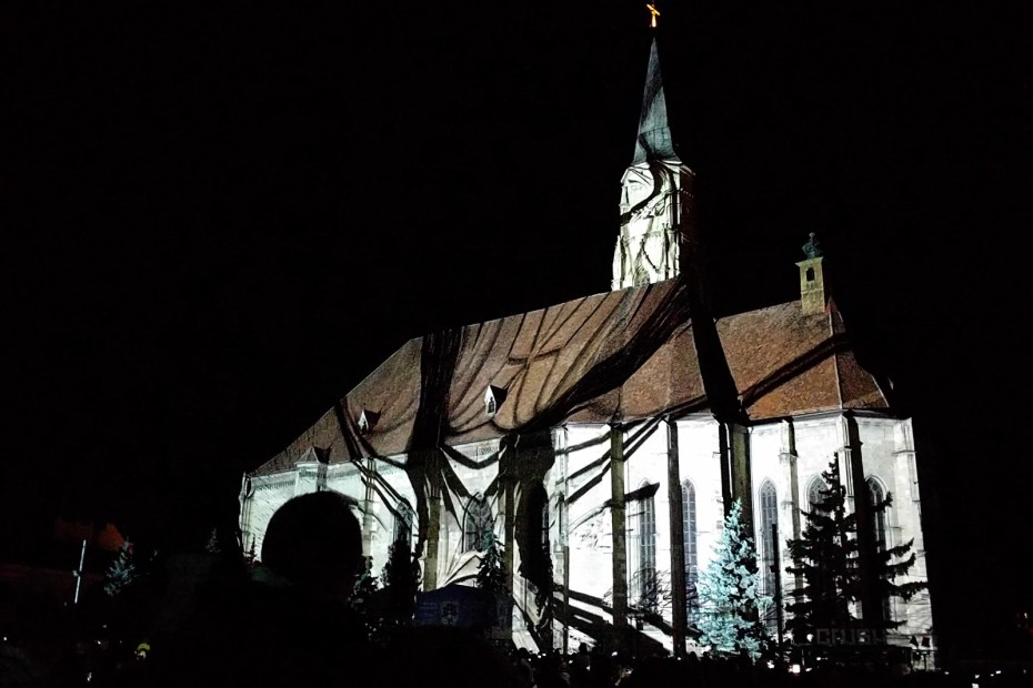 3d Mapping Cluj Zilele culturale maghiare