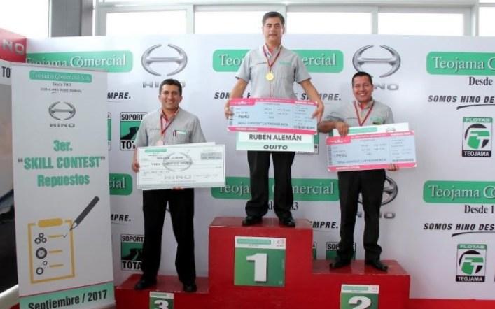 Teojama Comercial eligió a sus representantes para el Hino Skill Contest 2s en Latinoamérica
