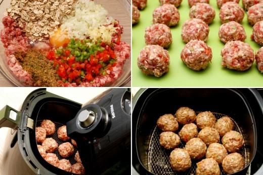 Preparare chiftele cu sos aromat