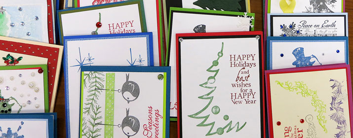 Homemade Cards Help Troops Send Their Love From Overseas