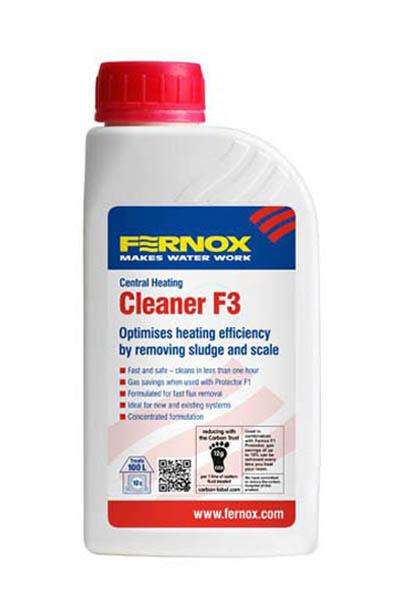 Cleaner F3 cistenie kurenia