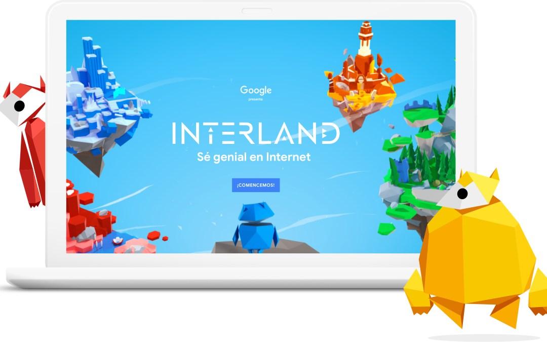 Sé genial en Internet, plataforma de Google para enseñar ciudadanía digital