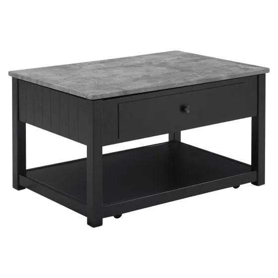 ezmonei lift top coffee table w casters