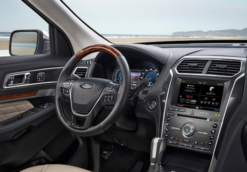 New 2021 Ford Explorer Interior Changes