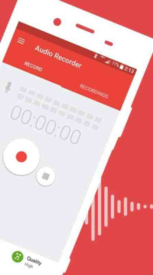 Audio Recorder by Sony