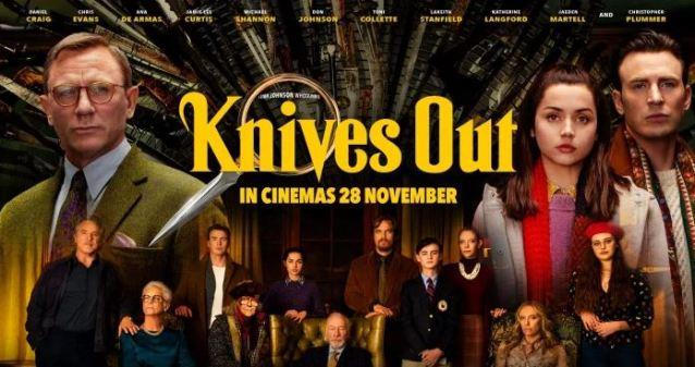 """أقوى افلام اكشن الجريمة والغموض """"Knives Out"""""""