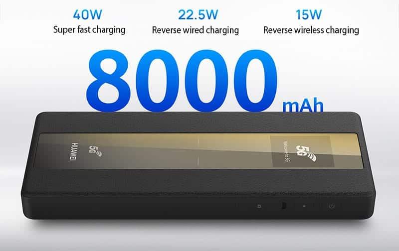 راوتر هواوي واي فاي HUAWEI 5G Mobile WiFi Pro