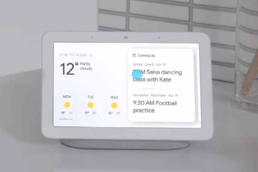 مكبر الصوت Google Hub Home
