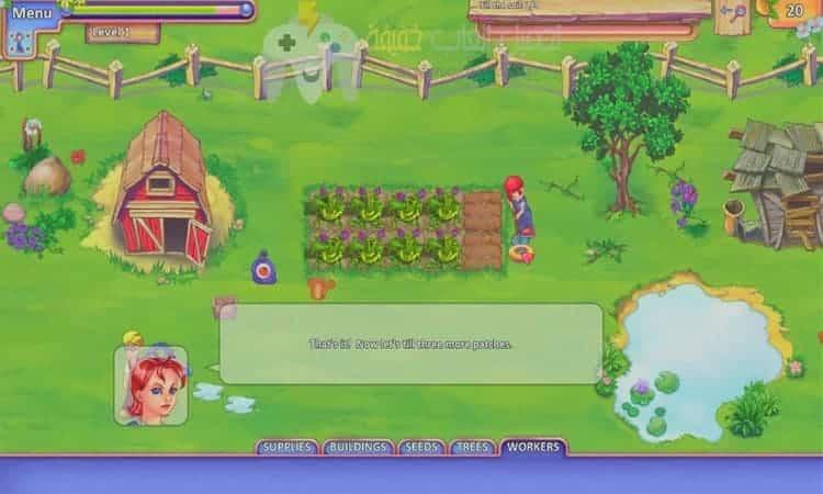لعبة المزرعة السعيدة Farmcraft
