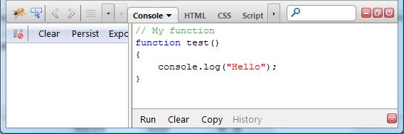 Firebug tools for CSS HTML debugging