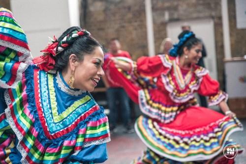 Mariachi dancers