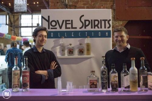 Novel Spirits featuring bacanora and sotol