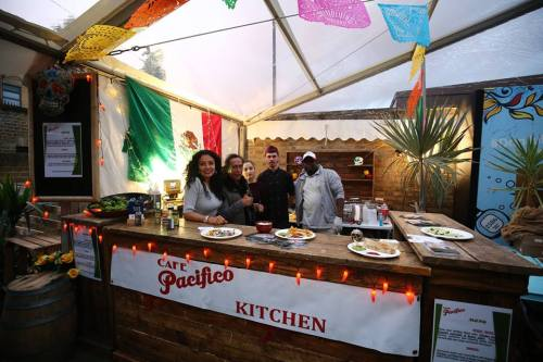 Cafe Pacifico stand