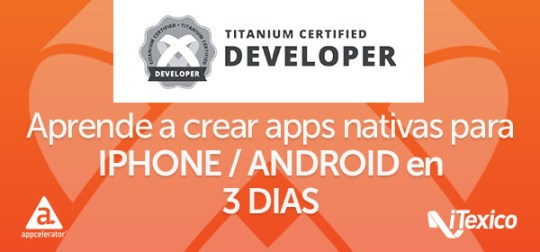 Titanium Certified Developer Training