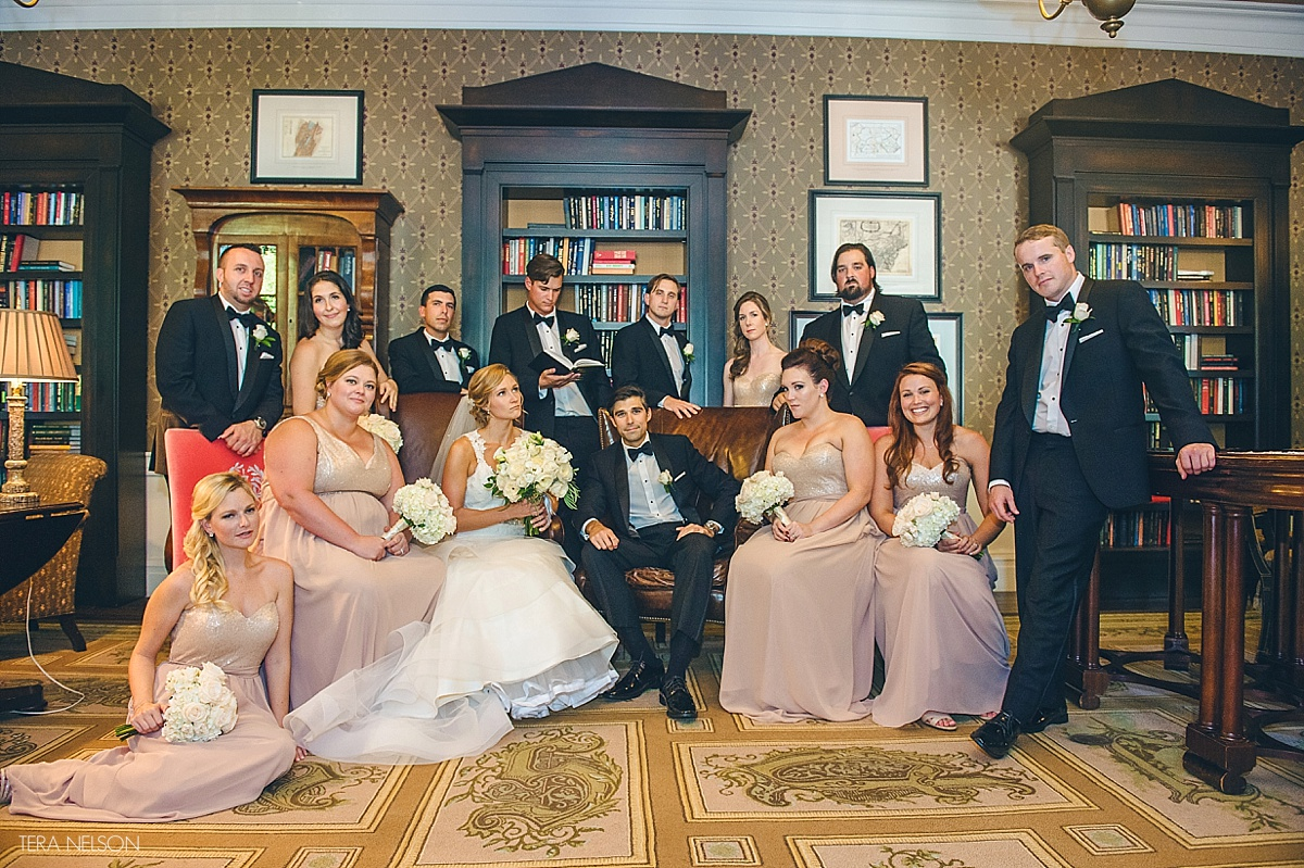 RICKY LINDSEY A Bedford Springs Fall Wedding With A