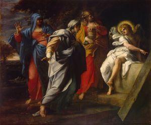 Annibale Carracci - Donne sante alla tomba di Cristo