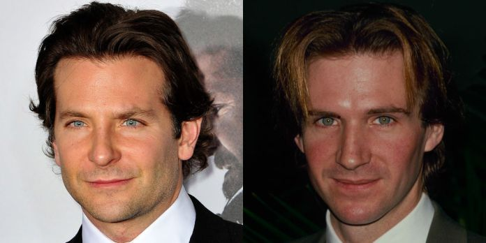BRADLEY COOPER AND YOUNGER RALPH FIENNES