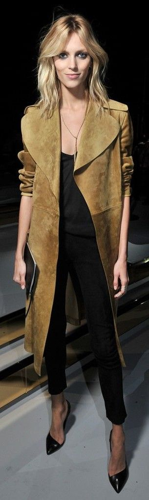 suede coat