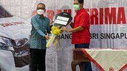 Jusuf Kalla Saksikan Penyerahan Ambulans dari Diaspora Indonesia di Singapura