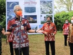 Pembangunan Jateng Valley Destinasi Terbesar di Asia Tenggara Dimulai