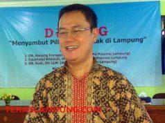 Koordinator Divisi Hukum KPU Lampung, M. Tio Aliansyah