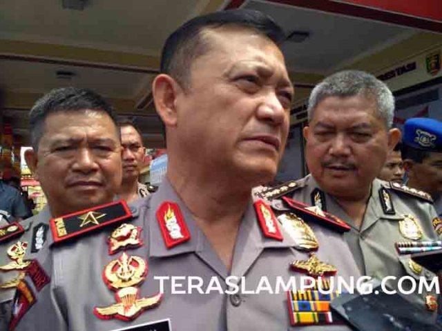 Kapolda Lampung, Brigjen Ike Edwin