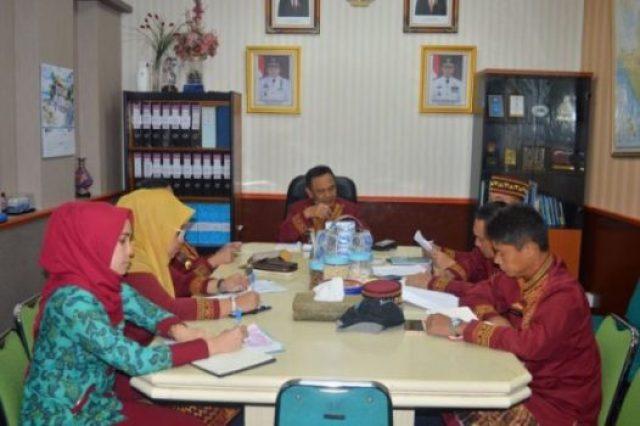 Rapat persiapan fasilitas kegiatan KKDN Unhan ke Pemerintah Provinsi Lampung.