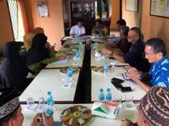 Suasana pertemuan antara Kapolres Lampung Utara, AKBP Eka Mulyana bersama para pengurus Muhammadiyah Lampung Utara