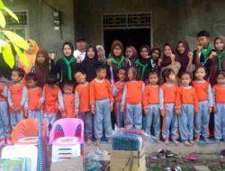 Sispala LGH SMA Maarif 1 Kalianda Serahkan Bantuan bagi PAUD-TK Korban Banjir