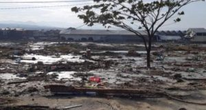 Suasana pemukiman yang rusak akibat gempa dan tsunami di Palu, Sulawesi Tengah , Sabtu, 29 September 2018. ANTARA/BNPB