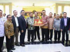Komisi II DPR melakukan kunjungan kerja di Lampung, Jumat (2/11/2018).