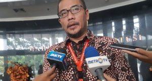 Komisioner Komisi Pemilihan Umum (KPU) Hasyim Asy'ari menjawab pertanyaan pers di Jakarta, Selasa (13/11/2018). -Bisnis.com - Samdysara