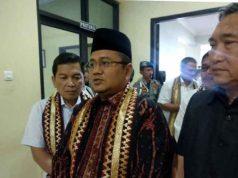 Wakil Walikota Jambi Maulana saat melakukan kunjungan kerja ke Pemkot Bandarlampung, Rabu, 19 Juni 2019.
