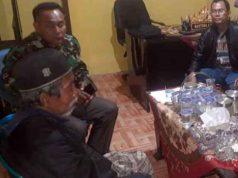 Hamdan (60 tahun) diselamatkan di Polsek Pardasuka, Pringsewu (dok Polres Tanggamus)